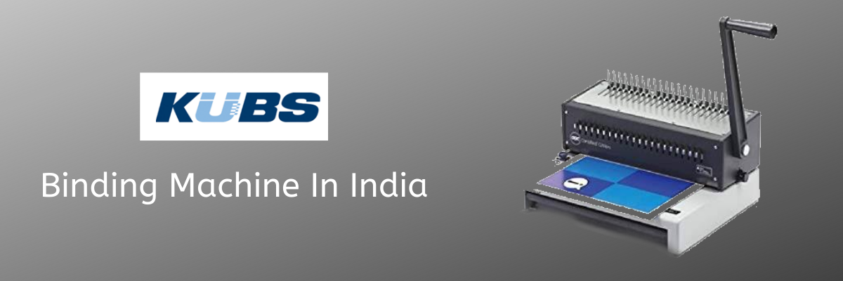 Binding Machine In India