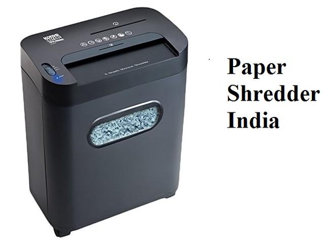 Paper Shredder India