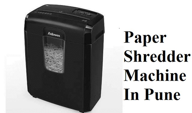Paper Shredder Machines In Pune