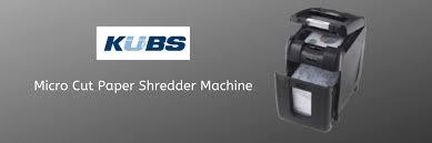 Micro Cut Paper Shredder Machine