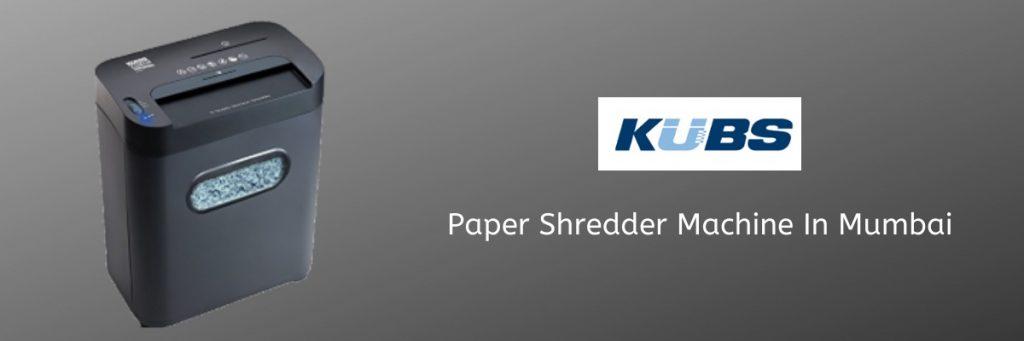 Paper shredding machine in Mumbai